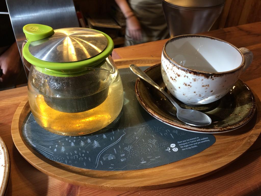 Apple Loves Mint tea