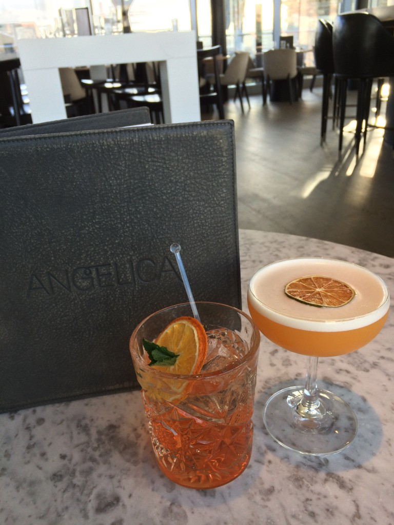 Angelica cocktails