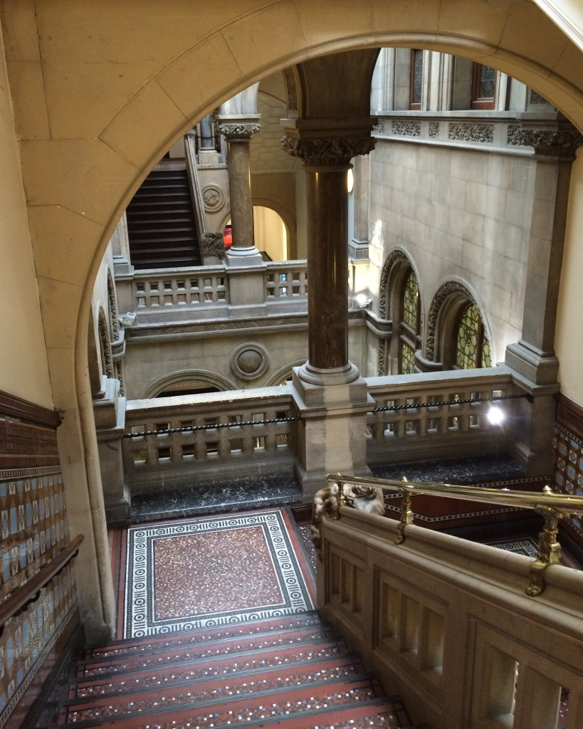 Staircase in Leeds Central Library