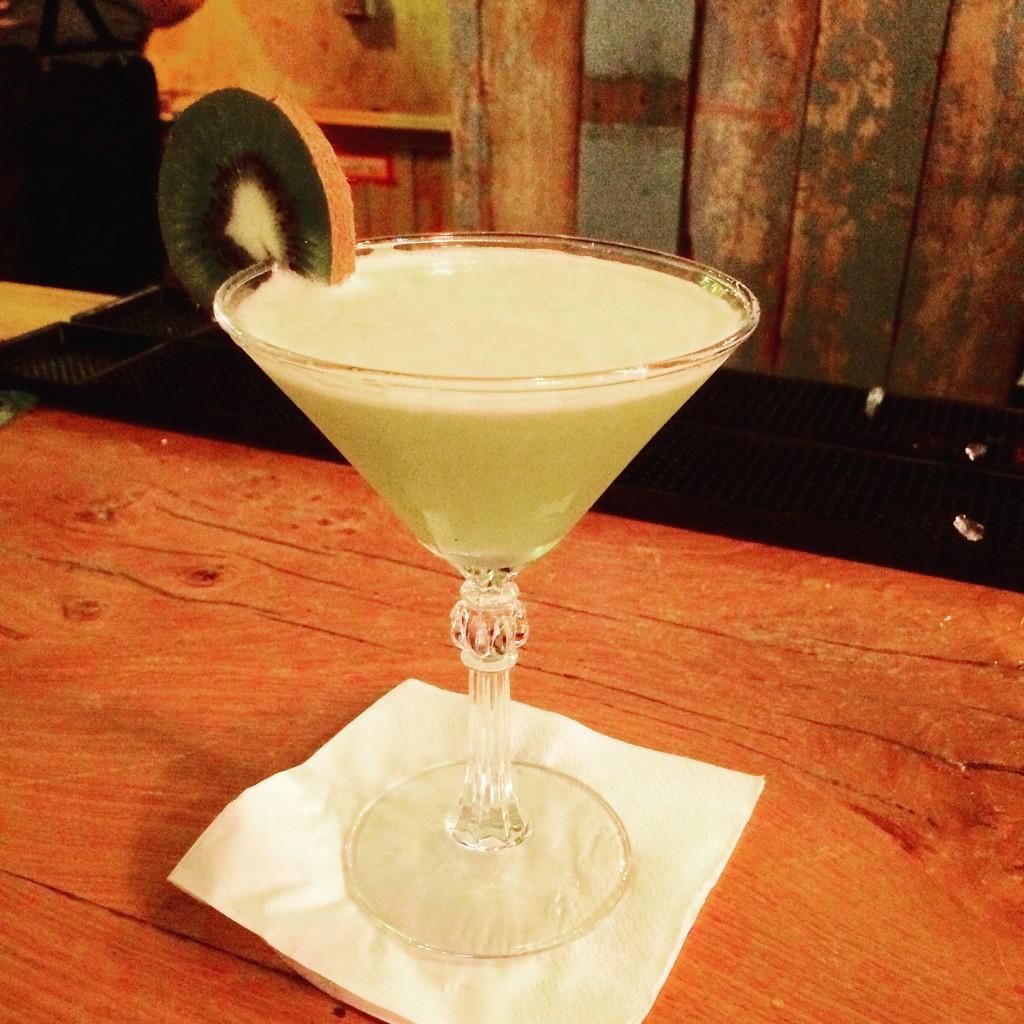 Kiwi and Sage Martini