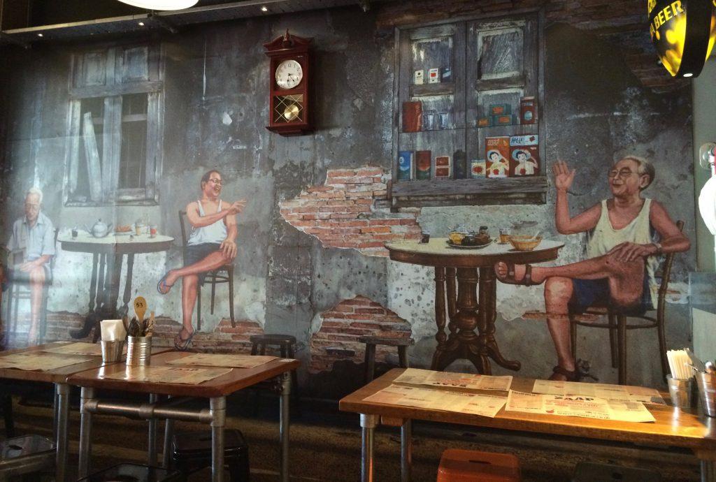 Mural at Zaap Thai