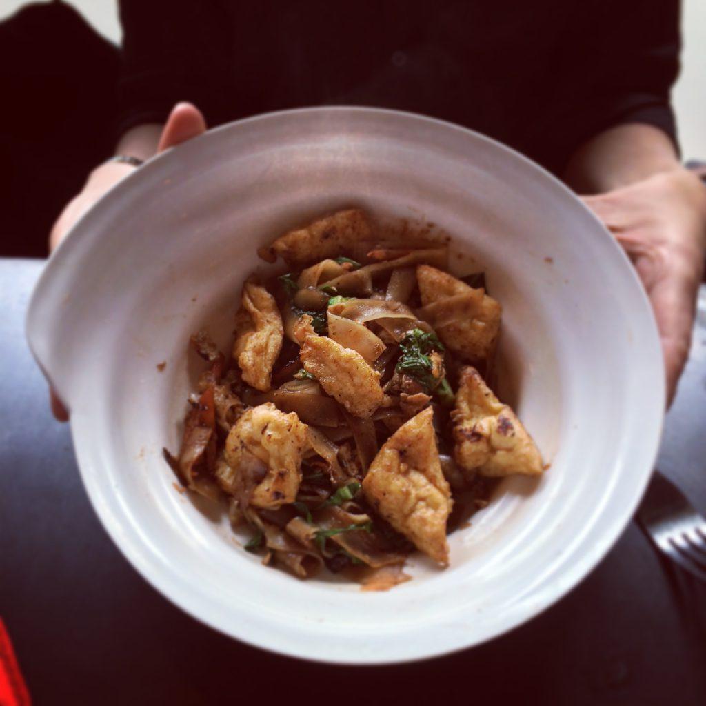 Tofu Pattaya Pad See Ew